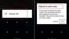 menhilangkan safe mode di android