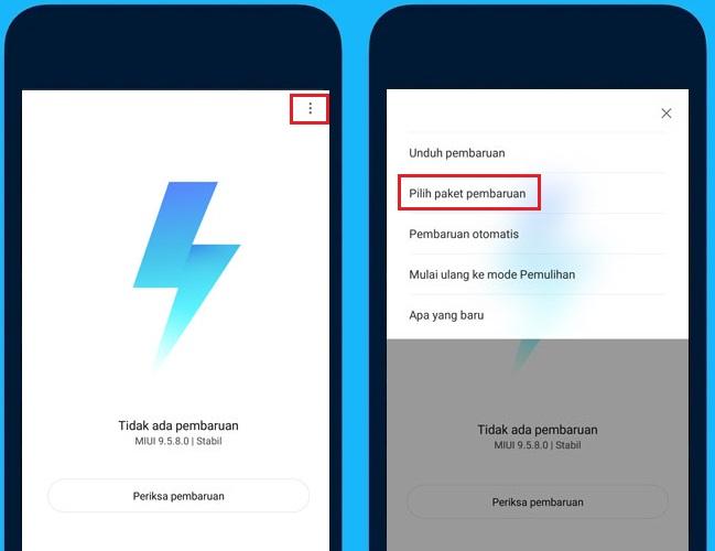mengatasi gagal update can't verify update Xiaomi