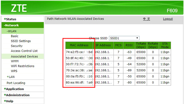 cara mengetahui mac address android