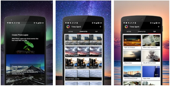 aplikasi timelapse di android