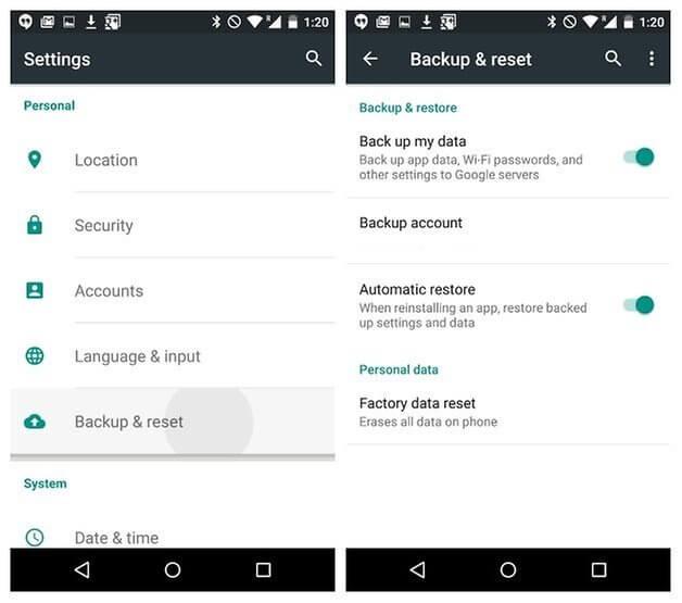 cara backup data android ke PC
