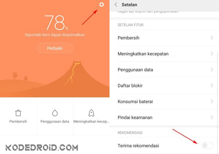 cara menghilangkan iklan yang sering muncul pada HP Xiaomi